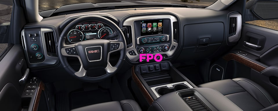 2020 GMC Sierra Chassis Cab Interior Dash View