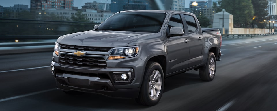 2021 Chevrolet Colorado Mid-Size Truck Exterior View