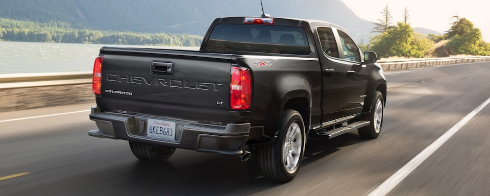 2021 Chevrolet Colorado Mid-Size Truck Rear Side Exterior View