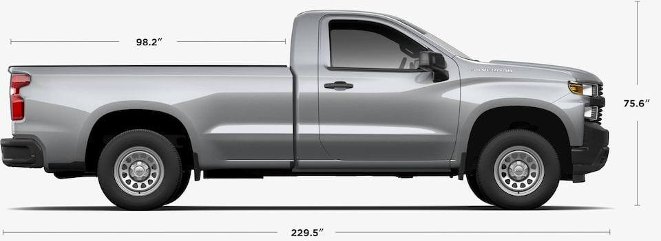 2021 Chevrolet Silverado 1500 Full Size Pickup Truck Gm Fleet