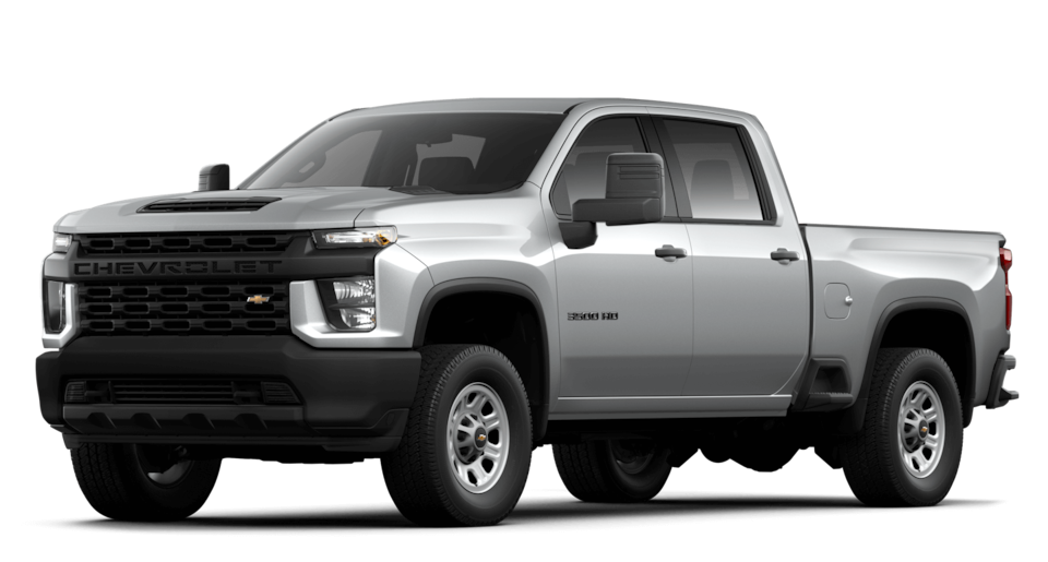 2021 Chevrolet Silverado 3500 HD Front Side View