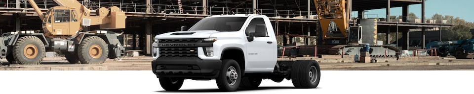2021 Chevrolet Silverado 3500 HD Chassis Cab Pickup Front Side Exterior View
