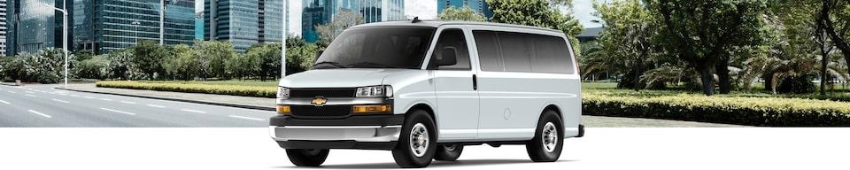 2019 Chevrolet Express Passenger Van Interior
