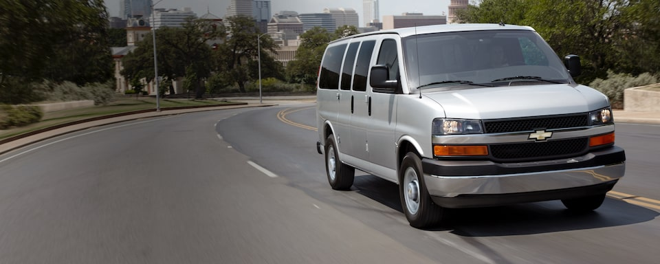 2019 Chevrolet Express Passenger Van Safety Features