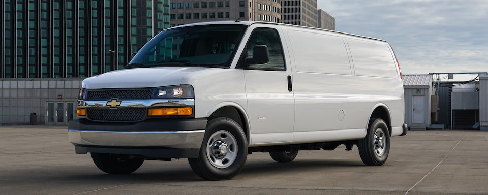 2019 Chevrolet Express Cargo Van Exterior Front Side View