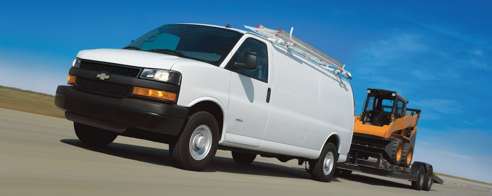 2019 Chevrolet Express Cargo Utility Van Towing Exterior View
