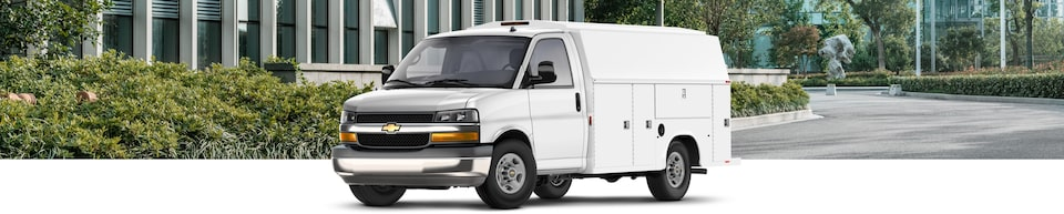 2020 Chevrolet Express Cutaway Van Wide Angle View