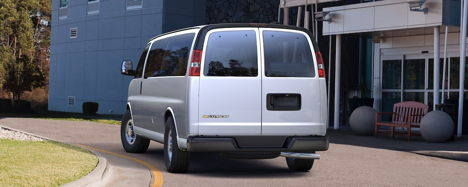 2020 Chevrolet Express Passenger Van Exterior Rear View