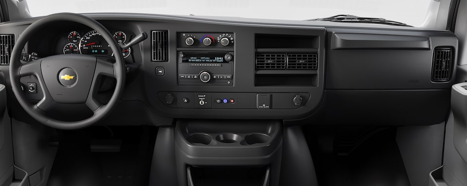 2020 Chevrolet Express Cargo Van Interior Dash