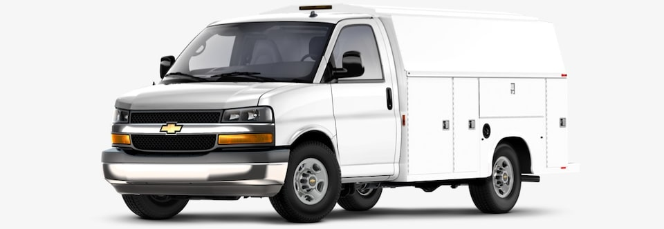 2020 Chevrolet Express Utility Body Commercial Vehicle