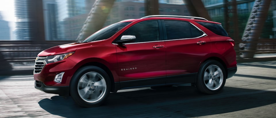 GM Fleet Fuel Efficent Crossovers: Chevy Equinox