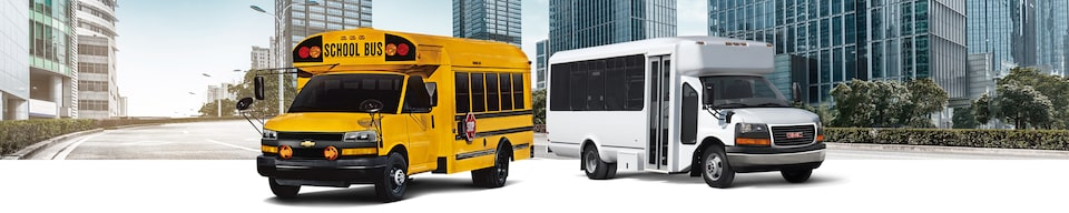 School Bus and Shuttle Bus Upfit Applications