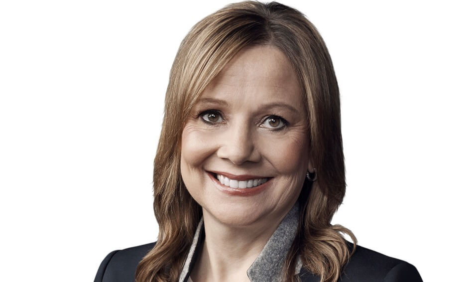 GM Fleet Chairman and CEO Mary Barra