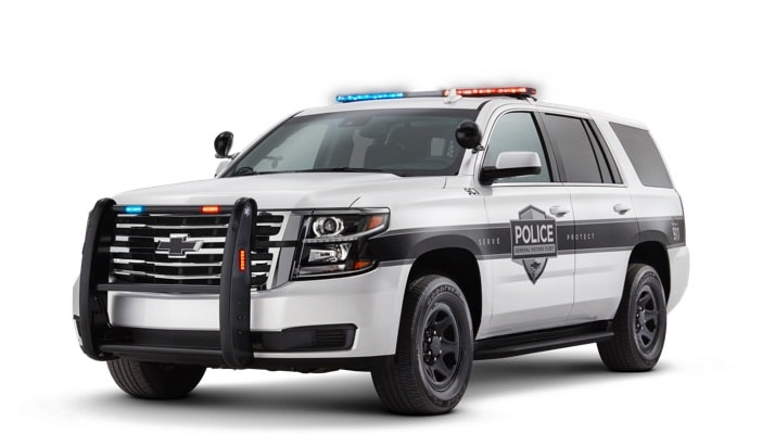 2019 GM Fleet Police and Government Vehicles