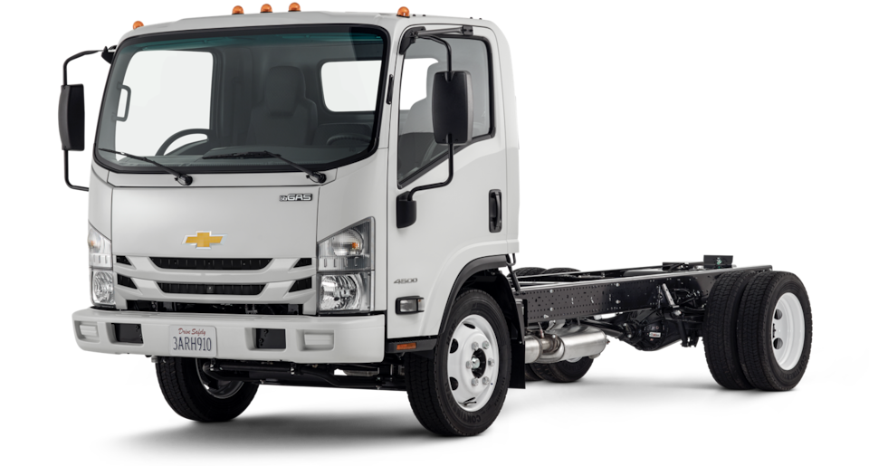 2020 Chevrolet Low Cab Forward